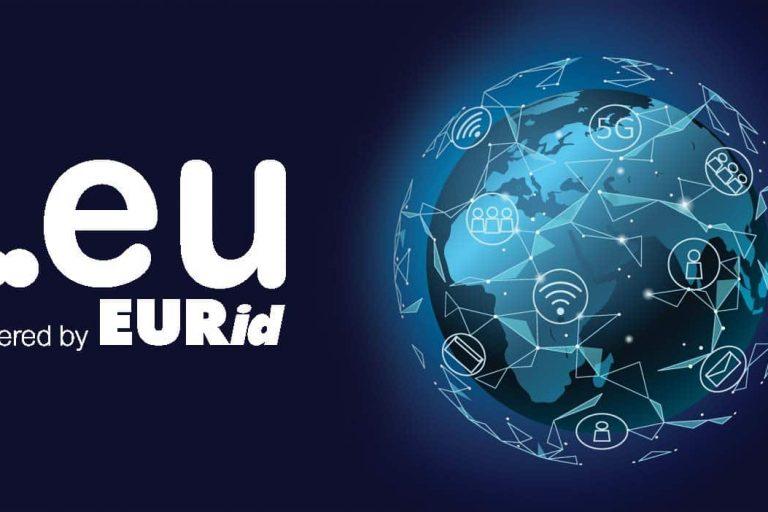 Registracija nove .EU domene za 10 let v decembru 2020 za 19,99 EUR