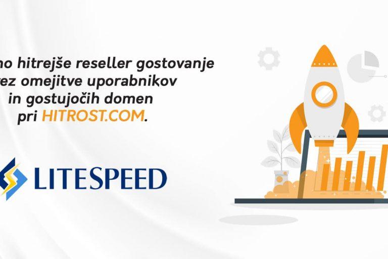LITESPEED reseller gostovanje na INTEL XEON GOLD procesorjih (3,00 – 4,00 GHz)