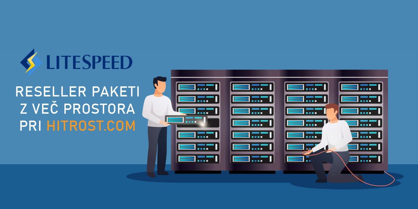 LiteSpeed RESELLER GOSTOVANJE do 220 GB SSD